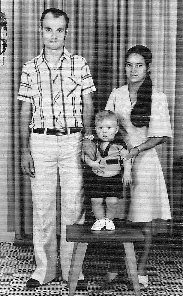 Pai, mãe e eu